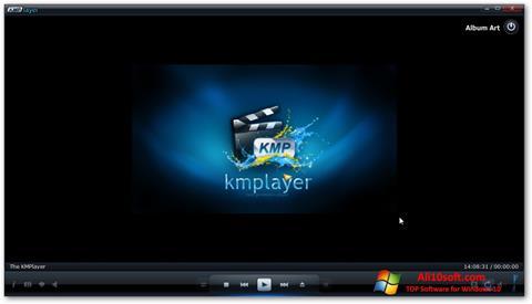 ภาพหน้าจอ KMPlayer สำหรับ Windows 10