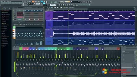 ภาพหน้าจอ FL Studio สำหรับ Windows 10
