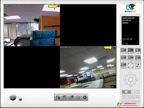 ภาพหน้าจอ D-ViewCam สำหรับ Windows 10