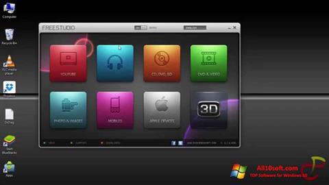 ภาพหน้าจอ Free Studio สำหรับ Windows 10
