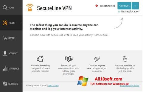 ดาวน์โหลด Avast SecureLine VPN สำหรับ Windows 10 (32/64 bit) ภาษาไทย