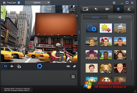 ภาพหน้าจอ CyberLink YouCam สำหรับ Windows 10