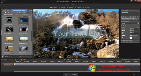 ภาพหน้าจอ Pinnacle Studio สำหรับ Windows 10